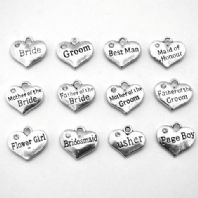 Wedding Charm Collection . Choose Your Own Wedding Party